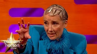 Emma Thompson Got Mistaken For A Naked 50 Year Old Man   The Graham Norton Show