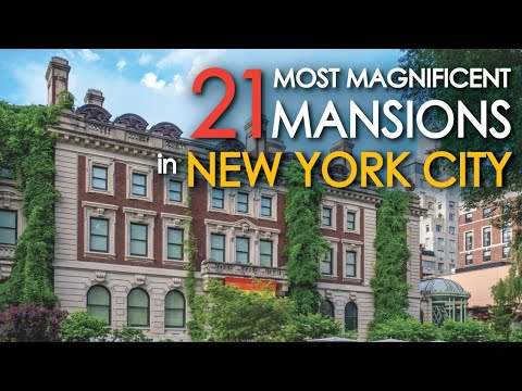 21 of the Most Beautiful Mansions in New York City