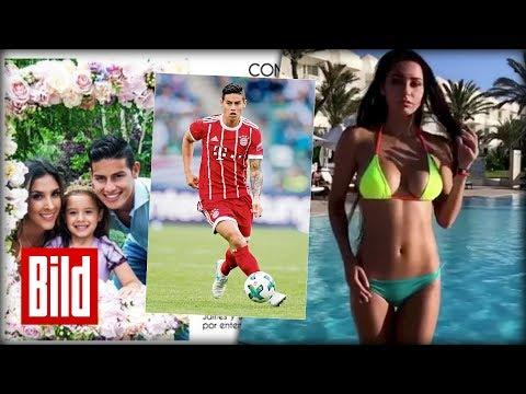 FC Bayern München - Hatte James eine Affäre mit dieser Russin?