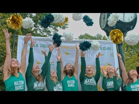 George Mason University | Green and gold. We wear them well!