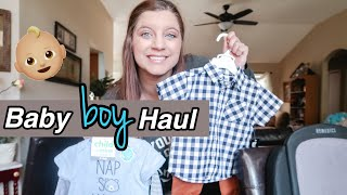 AFFORDABLE BABY BOY CLOTHING HAUL 2020 |Walmart, Target, Burlington, Etc.  | Cute Baby Clothes