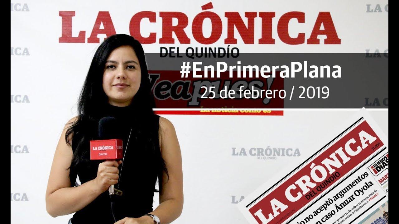 En Primera Plana: lo que será noticia este martes 26 de febrero