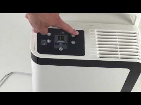 Inbetriebnahme und Bedienung des comfee Luftentfeuchter / Bautrockner MDF2-16DEN3