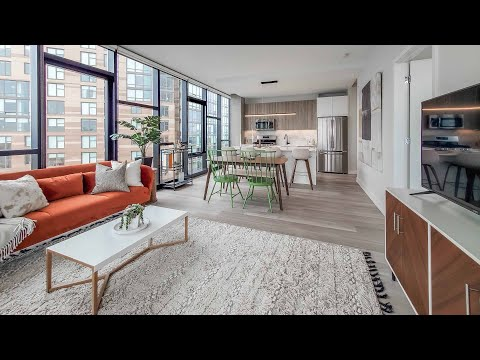 Tour an -02 1-bedroom model at River West's new Avenir apartments