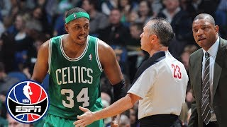 Former NBA stars explain how they used to 'manage' officials   NBA Countdown   ESPN