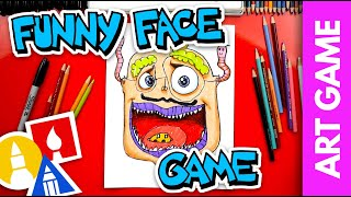 ART GAME: Funny Face Challenge
