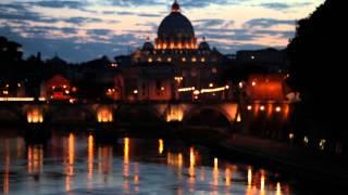 preview picture of video 'Rack focus view San Pietro Vatican City'