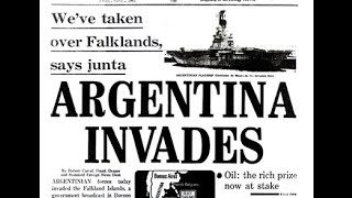 Falklands War - Argentine Invasion