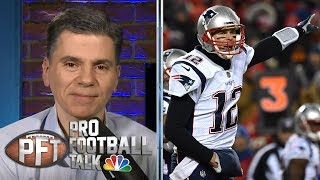 Tom Brady unstoppable in AFC Championship when game mattered most   Pro Football Talk   NBC Sports