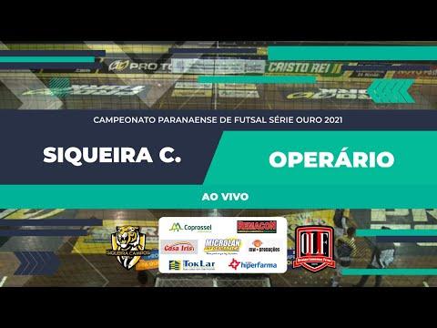 Siqueira Campos 01 x 00 Operário Laranjeiras - Paranaense de Futsal Chave Ouro