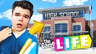 I Am Going BACK TO SCHOOL!? (Game Of Life)