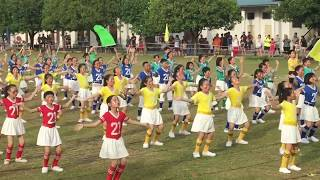 霹雳怡保育才华小第54届运动会迎宾舞《霓虹健儿 · 旗耀育小》 SJKC Yuk Choy Sport Day 2017