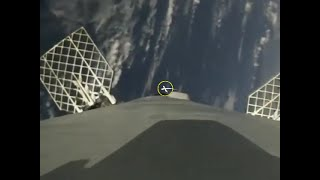 SpaceX Thaicom-8 First Stage Landing, With OCISLY Position Marker, 4x Slow-motion