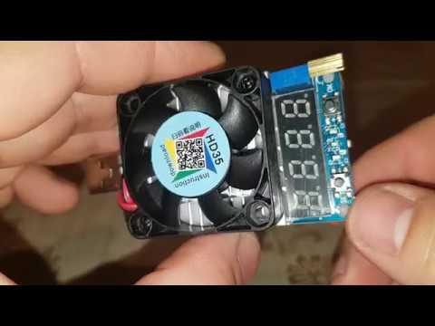 RUIDENG HD35 mosfet tranzistor zatěžovatel proudu a napětí