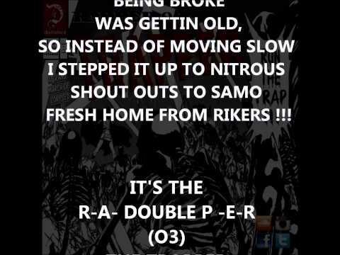 THE TRAPPER (LYRICS) BY RAPPER O3