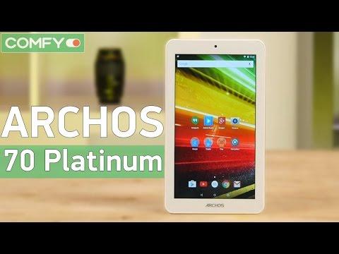 Archos 70 Platinum - бюджетный планшет с металлическим корпусом - Видео демонстрация