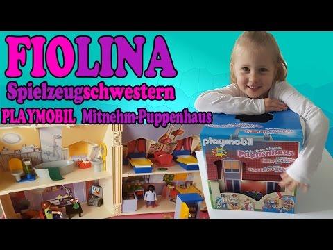 Playmobil Film deutsch - Mein Neues Mitnehm-Puppenhaus / Fiolina Spielzeug Schwestern