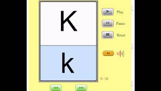 Audio Flashcards for Kids - The Alphabet / Letters