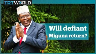 Miguna Miguna responds to threats from Kenya's opposition