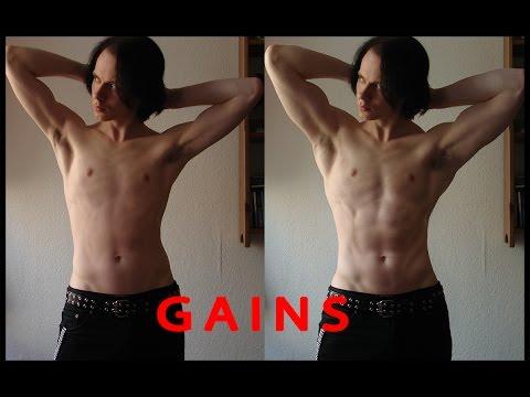 Vidéo de la jeune fille dans le bodybuilding