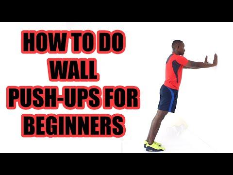 How to Do Wall Push Ups Correctly