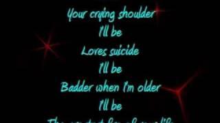 I'll Be Your Crying Shoulder Lyrics