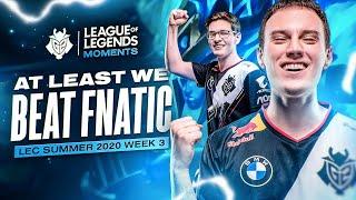 LEC : le highlight de la semaine 3 des G2 Esports