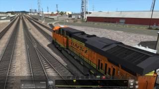 Train Simulator 2017 - [BNSF ES44DC] Leaving L.A. Pt.1 - 4K UHD
