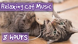 Music for Cats - 8 hour Relaxing Cat Music Playlist, Help Cats Sleep and Relax. Help with anxiety 🐱💤