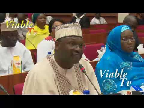 FULL VIDEO : What INEC Chairman Told Senate About Kogi, Bayelsa Governorship Elections
