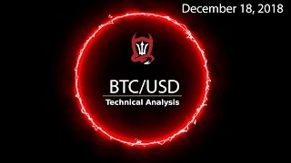 """Bitcoin"" Technical Analysis (BTCUSD) : Fun (Fib) Times [12/18/18]"