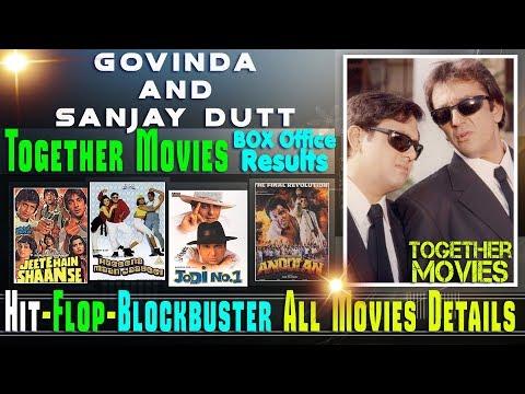 Sanjay Dutt and Govinda Together Movies | Sanjay Dutt and Govinda Hit and Flop Movies List.