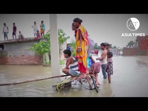 South Asia monsoon rains wreak flood havoc