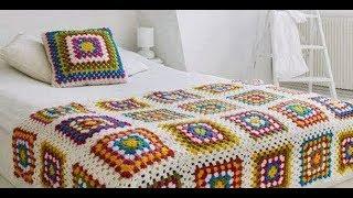 Yatak Örtüsü Modelleri Tığ işi Örgü Örnekler & Crochet