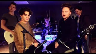 Conor Maynard Vs The Vamps   Shape Off You (Sing OffMashup)(LyricsLyrics Video)