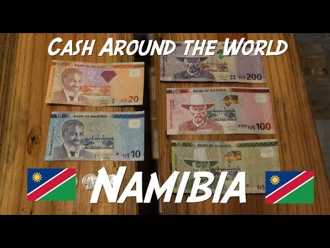 The Gorgeous Banknotes of Nambia