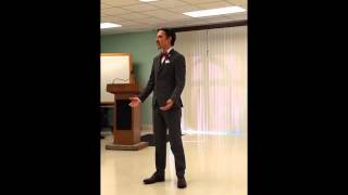 Austen Canonica - Toastmasters: Table Topics Competition
