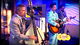Chris Isaak - Can't Help Falling In Love (Morning Show 12-10-2011)