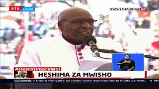 Moi's Final Salute: The preaching session at Nyayo National Stadium