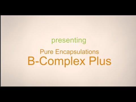 Pure Encapsulations B Complex Plus Product Review