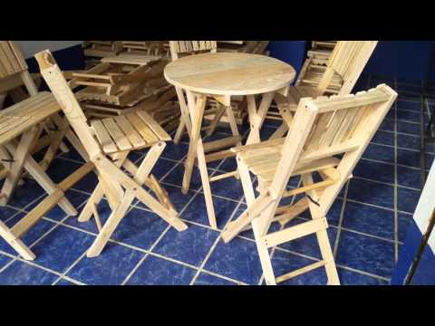 Mesa Coctelera  para bar