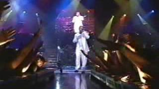 aaron & nick carter i need you tonight live @ aaron carter's valentine party
