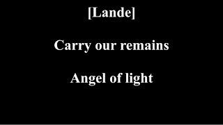 Avantasia - Angel of Babylon [Lyrics]