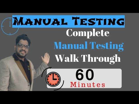Manual Testing , manual testing online Training Complete manual ...