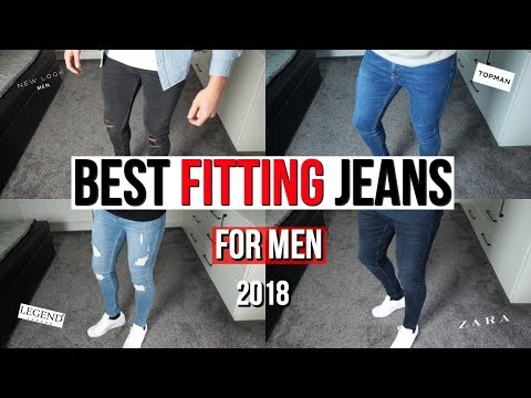 BEST FITTING SKINNY JEANS FOR MEN IN 2018 (Zara, Topman, New Look, Legend London)
