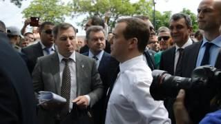 Крым Феодосия Дмитрий Медведев Картинная галерея имени Айвазовского 23 мая 2016