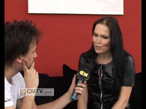 Tarja Turunen video Entrevista Act 1 - CM 2012