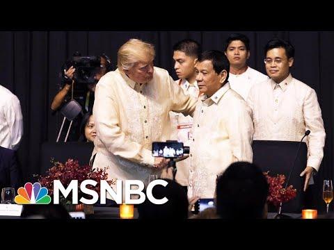 Analysis: Contrasting Accounts Of Donald Trump And Rodrigo Duterte Talks | Velshi & Ruhle | MSNBC