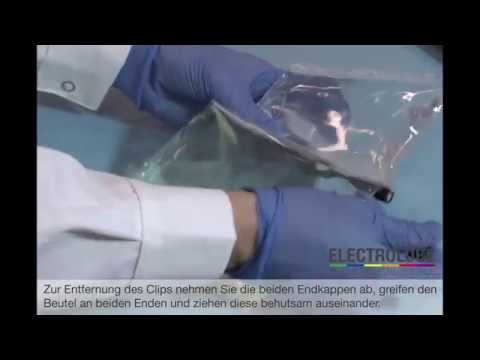 Video Electrolube: Vermischen von Kunstharzen
