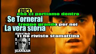 SE TORNERAI - 883 - MAX PEZZALI - KARAOKE